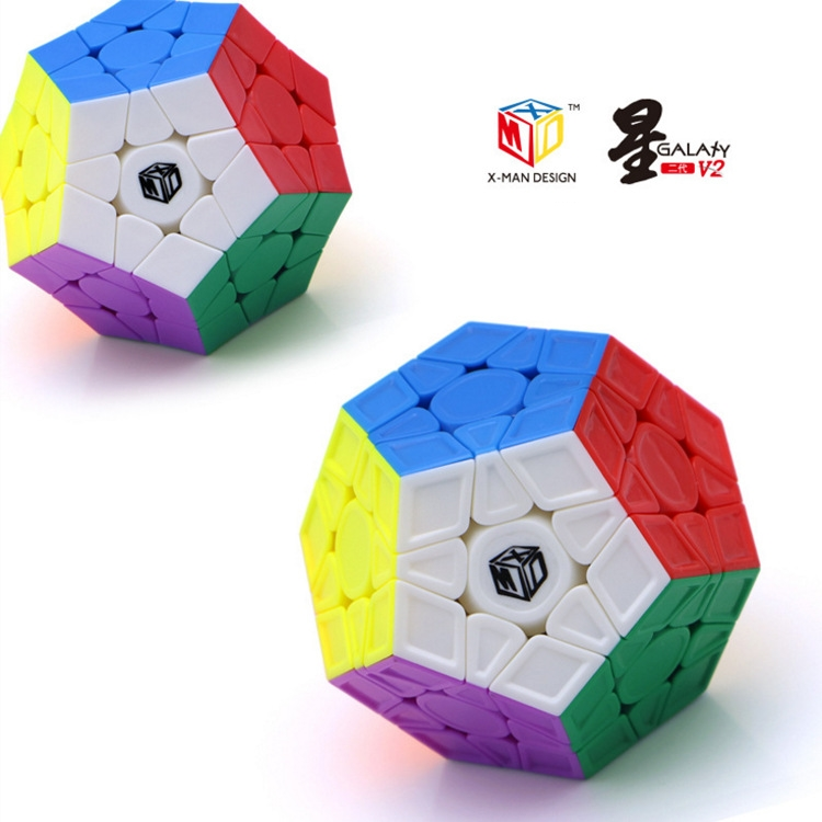 Qiyi Mofangge X-Man Megaminx Galaxy V2 L M Cube Magic Cubes Magnetic Regular Speed Puzzle Cubo Magico Professional 12 Sides