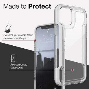 Image 4 - Защитный прозрачный чехол X Doria для телефона iPhone 11 Pro Max, чехол в стиле милитари для iPhone 12Pro, защитный петух