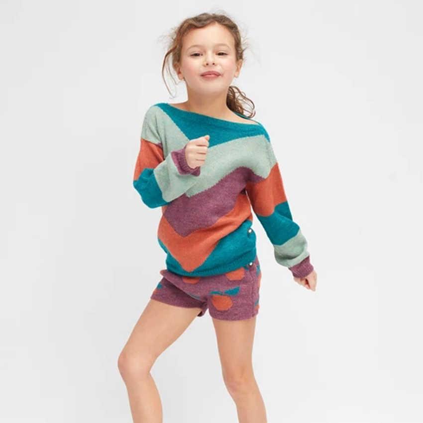 Tiền bán BoBomoon-OE 2019 Mùa Đông Cho Bé Gái Quần Áo Lễ Tạ Ơn Trang Phục Boutique Trẻ Em Quần Áo Giáng Sinh Tập Đi Bộ Quần Áo Bé Trai