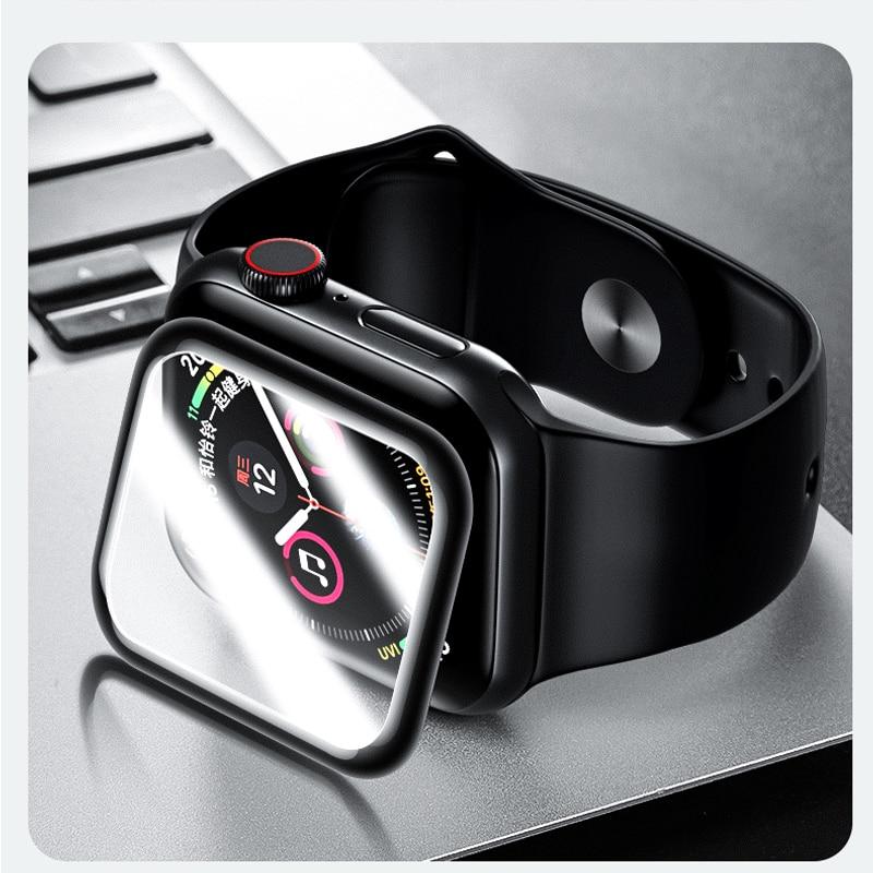 Película protectora de pantalla completa para Apple watch 5/4/3/2 9H, vidrio templado 3D para iwatch 42mm 44mm 38mm 40mm Teléfono Móvil 4G LTE apple-iphone SE, iPhone Original libre, Dual Core, 2GB RAM, 16 GB/64GB ROM, pantalla de 12,0mp, IOS, reconocimiento de huella dactilar, Touch ID