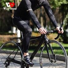 Leg-Warmers Compression-Sleeve Sport-Leggings Basketball Cycling Anti-Uv Running Racing