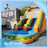 Outdoor Water Games Inflatable Swimming Pool Slide For Kids