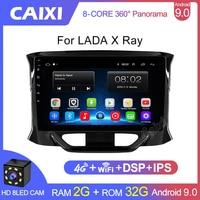 CAIXI Car Multimedia Video lettore MP3 Radio 2Din Android 9.0 per LADA x-ray LADA, x-ray 2015 2016 - 2019 telefono per auto Bluetooth