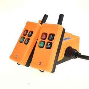 Image 4 - HS 4 2 Tansmitters 4 ช่อง 1 ควบคุมความเร็ววิทยุเครนระบบรีโมทคอนโทรล