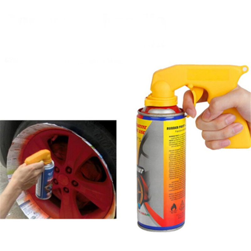Car Styling Labor-saving Portable Plastic Dip Handle Spray Gun Rim Membrane Spray Gun Tools For Art Car Model