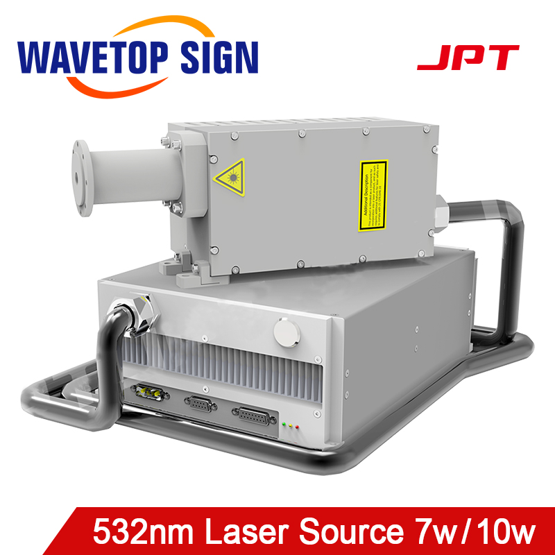 JPT LAKE 532nm 7W 10W Green Laser Source Air Cooling For Green Laser Machine