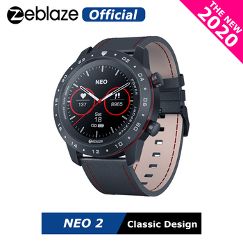 The New 2020 Zeblaze NEO 2 Smartwatch Health&Fitness Waterproof/Better Battery Life Classic Design Bluetooth 5.0 For Android/IOS - discount item  64% OFF Smart Electronics