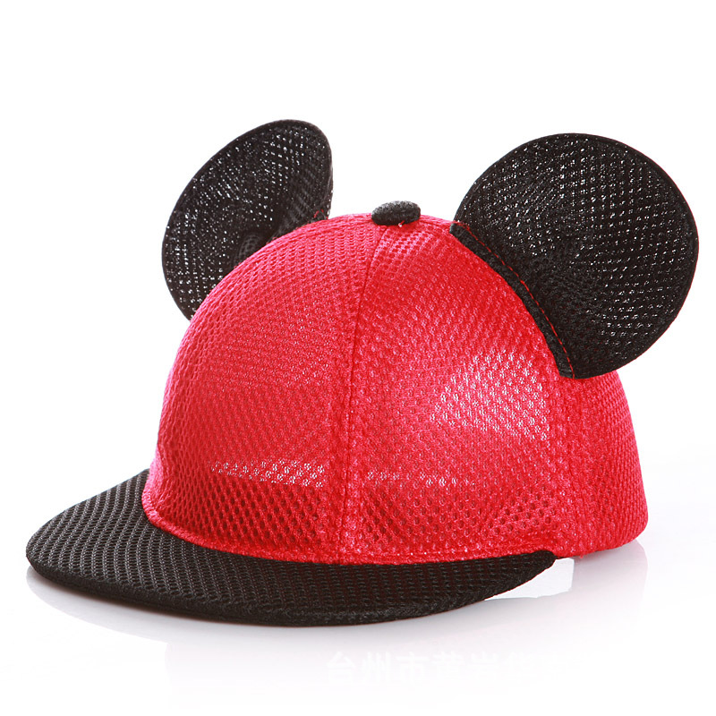 Baby Cartoon Baseball Cap Mesh Hip Hop Hat Children Summer Hat Kids Sun Caps Baby Hat