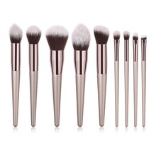 Makeup brushes set  professional 4/9/10 Pcs  Blusher Lip Powder Foundation Eye Shadow Brush Make Up Brush Cosmetic Beauty Tools цены онлайн