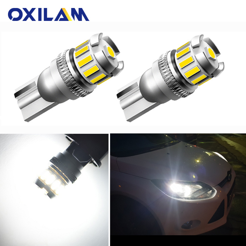 2x T10 W5W <font><b>LED</b></font> Canbus Car Interior Parking Lights For <font><b>Renault</b></font> Reno Logan Kaptur Clio Duster Laguna Megane 2 <font><b>Captur</b></font> Sandero 12V image