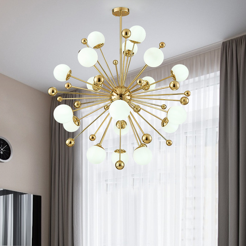 Modern  Hanging Ceiling Lamps Crystal   Restaurant  Hanglamp