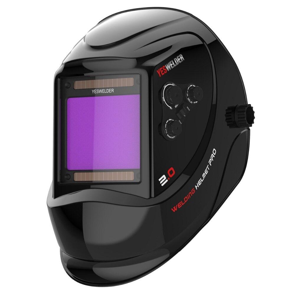 5 piezas de lentes gran pantalla exterior repuesto y 2 piezas interior YESWELDER LYG-M800H