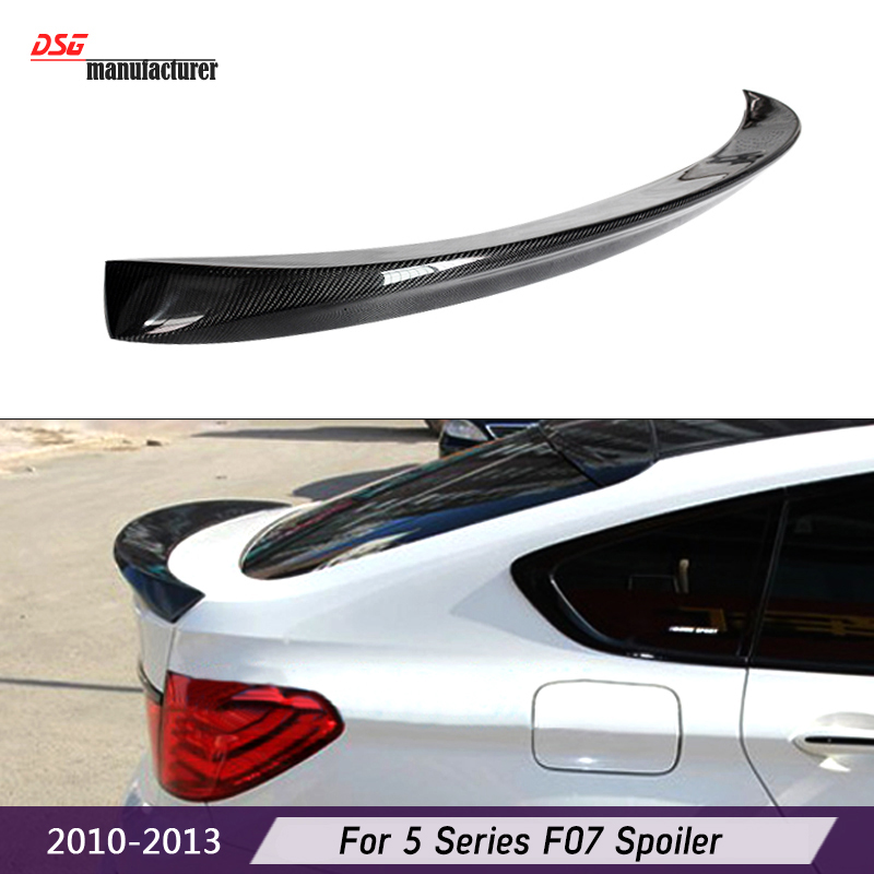 Carbon Fiber Trunk Wing Spoiler for <font><b>BMW</b></font> 5 Series <font><b>F07</b></font> Gran Turismo Fastback Rear <font><b>Bumper</b></font> Tuning 2010-2013 image
