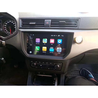 Chogath 9 inch 2 din Car Multimedia Player Quad Core Android 8.0 Car Radio GPS Navigation for Seat Ibiza 2018