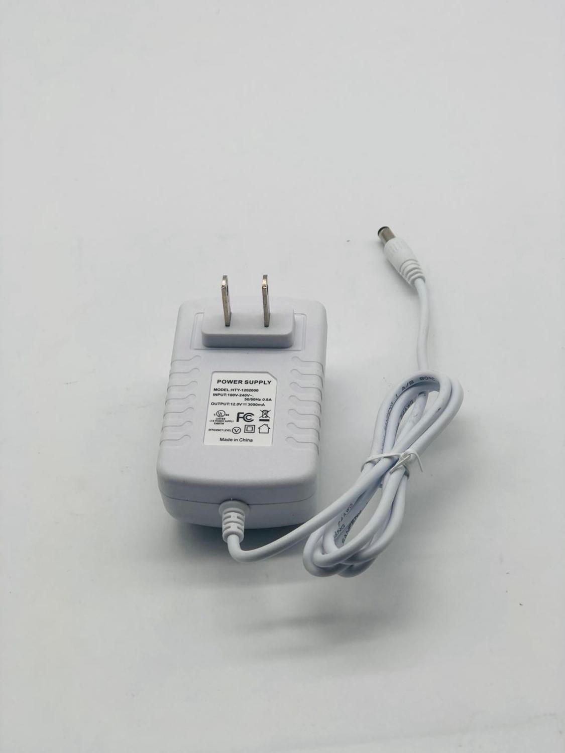 Adapter DC12V 3A  Adaptor Charger Supply Universal Switching For LED Light Strips Power Adapter