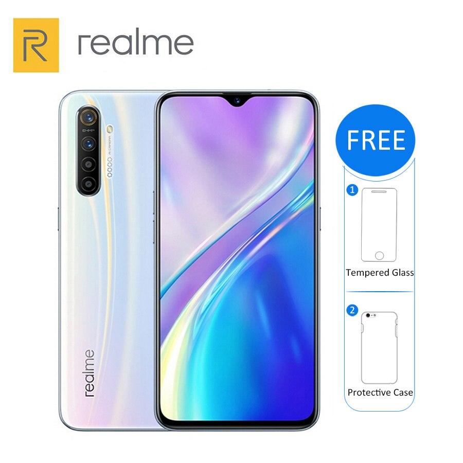 """New Original Realme X2 8GB RAM 256GB ROM Mobile Phone Snapdragon 730G 6.4"""" Quad main Camera 64MP 4000mAh 30W NFC 4G Smartphone Cellphones  - AliExpress"""