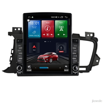 9.7 octa core tesla style vertical screen Android 10 Car GPS radio Navigation for Kia Optima K5 2011-2013 image