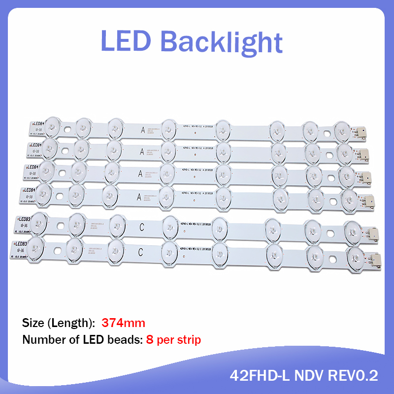LED Backlight Strip For Hitachi 42