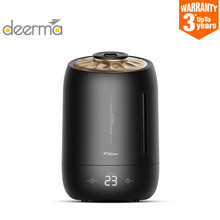 HOT Deerma Household Air Humidifier Air Purifying Mist Maker Timing With Intelligent Touch Screen Adjustable Fog Quantity 5l