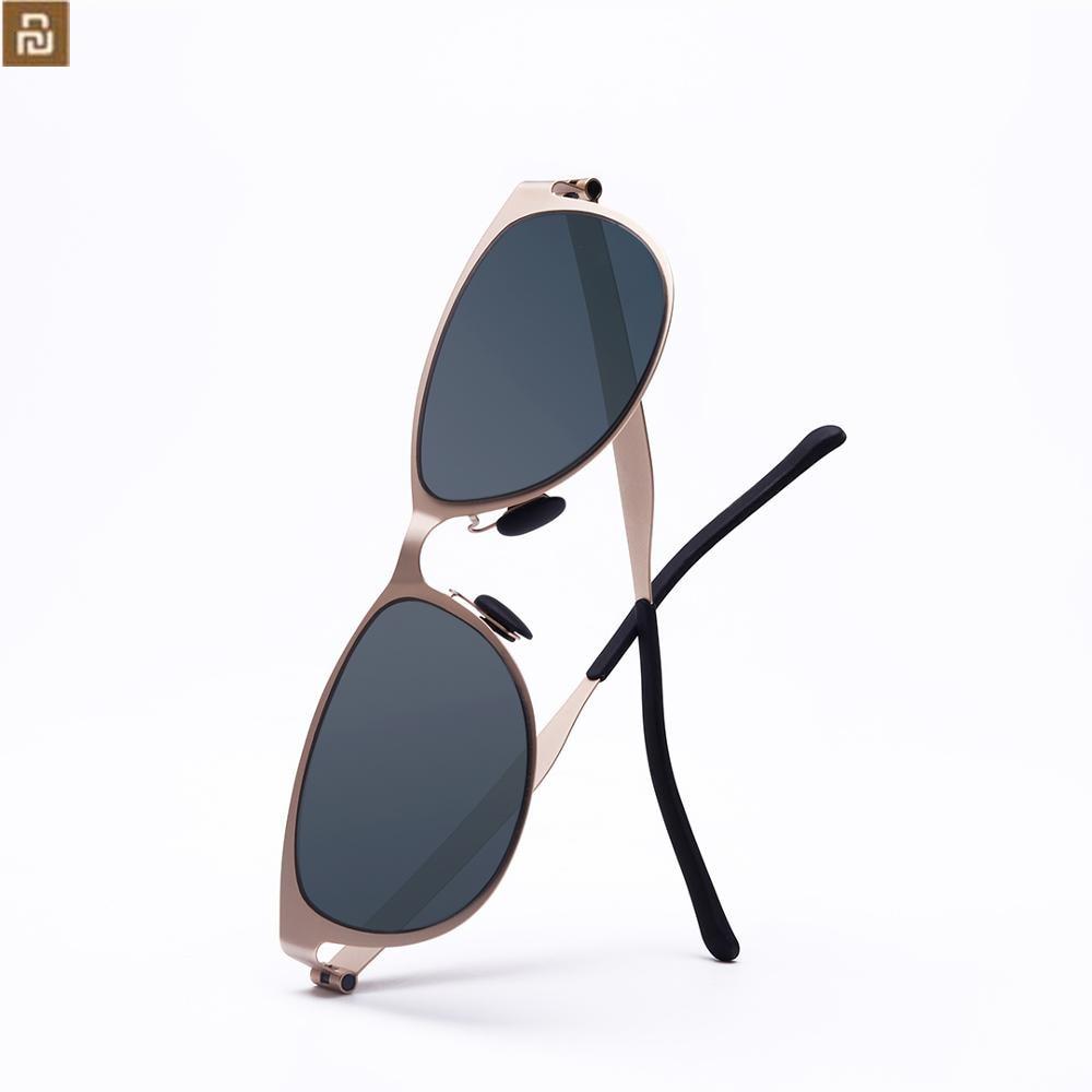 Новый Youpin TS солнцезащитные очки классические очки в стиле «кошачий глаз для модных женщин туман логотип для путешествий на открытом воздух...