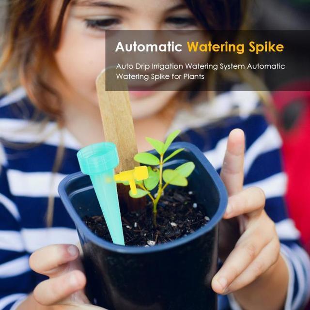 Фото 48 шт удобный автоматический полив наборы садовые принадлежности
