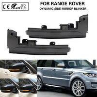 2X dynamic LED side mirror blinker Light Turn Signal Lamp For Land Rover LR4 Discovery Range Rover Sport Evoque MK IV