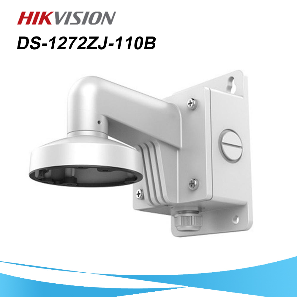 CCTV Accessories DS-1272ZJ-110B High Quality Aluminum Alloy Wall Mount Bracket With Junction Box For Dome Camera DS-2CD2185FWD-I
