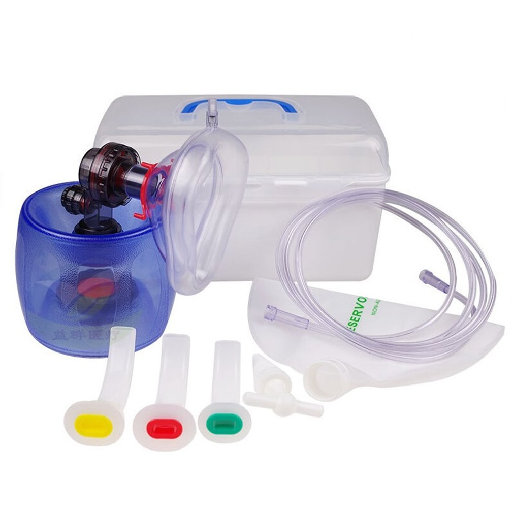 Simple Self Help Simple Respirator CPR Rescue Airbags First Aid Training  Life    Saving Air Respirators