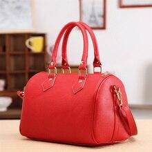 Women Handbags Ladies Handle Bag Leather Totes Black Red Beige PU Leather Should