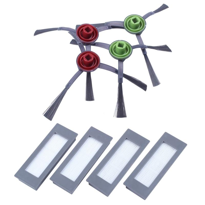 Robot Hepa Filter Sponge Filter Side Brush for Ecovacs Deebot OZMO 902 Robotic Vacuum Cleaner Parts Accessories Replacement|Vacuum Cleaner Parts| |  - title=