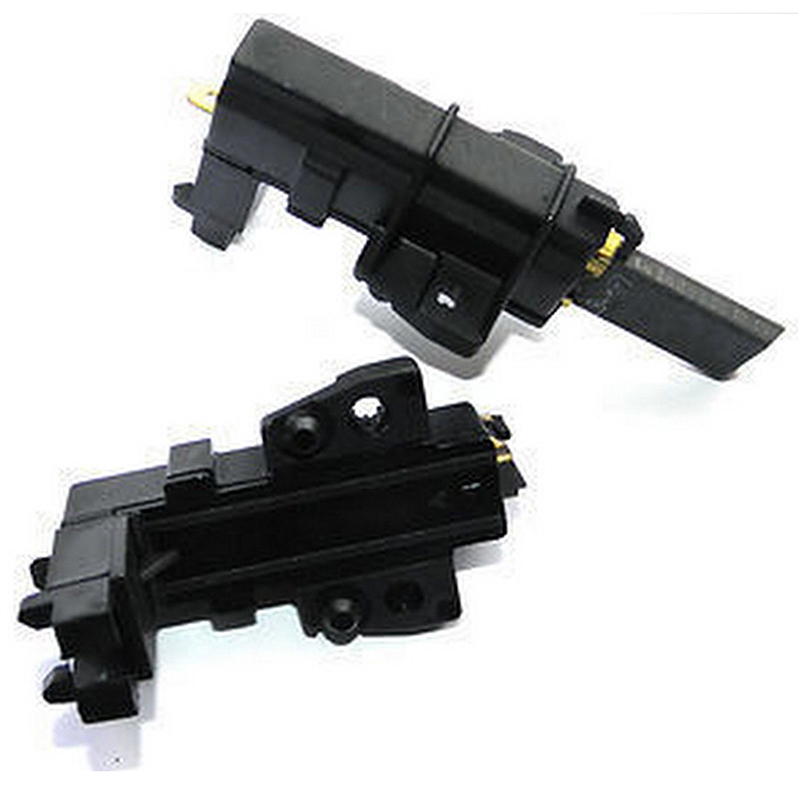 2 Pcs/lot Washing Machine Motor Carbon Brushes For Whirlpool Hoover Candy Indesit Wholesale Black Color