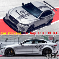 Car stickers For Jaguar XE XF XJ XEL stickers pull flowers XE XF XJ Appearance decoration modified car stickers