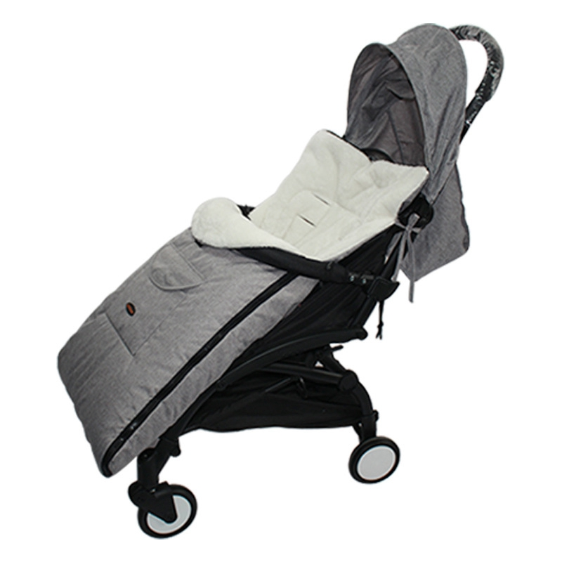 Winter Thick Warm Wheelchair Baby Stroller Sleeping Bag Foot Cover Pram Supply