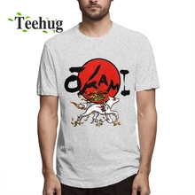Goddess Of The Sun Okami T shirt Homme Tee Shirt New Casual For Man Novelty Top Design O-neck Nice
