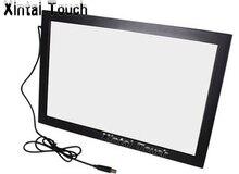 "¡Envío rápido! 55 ""10 puntos multi infrarrojos IR touch Marco de panel de pantalla kit de superposición, SIN controlador, plug and play"