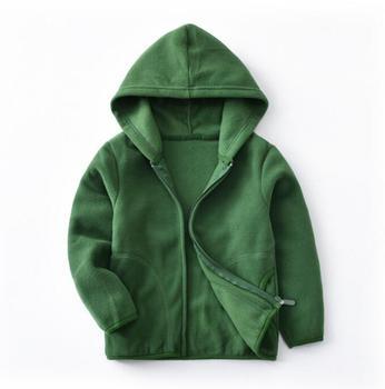 2019 New Winter Fleece Kids Jacket Coat Fashion Casual Clothing Women and Kids boys Jackets Fleece Sweatshirt 1