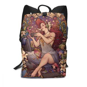 Image 5 - Hedgehog Backpack Hedgehog Backpacks School High quality Bag Men   Women Pattern Trending Student Bags