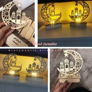 Image 5 - EID globos con letras de Mubarak para decoración de fiestas islámicas, musulmanas, al firt Eid, decoraciones Ramadán, Ramadan Mubarak, suministros para fiestas