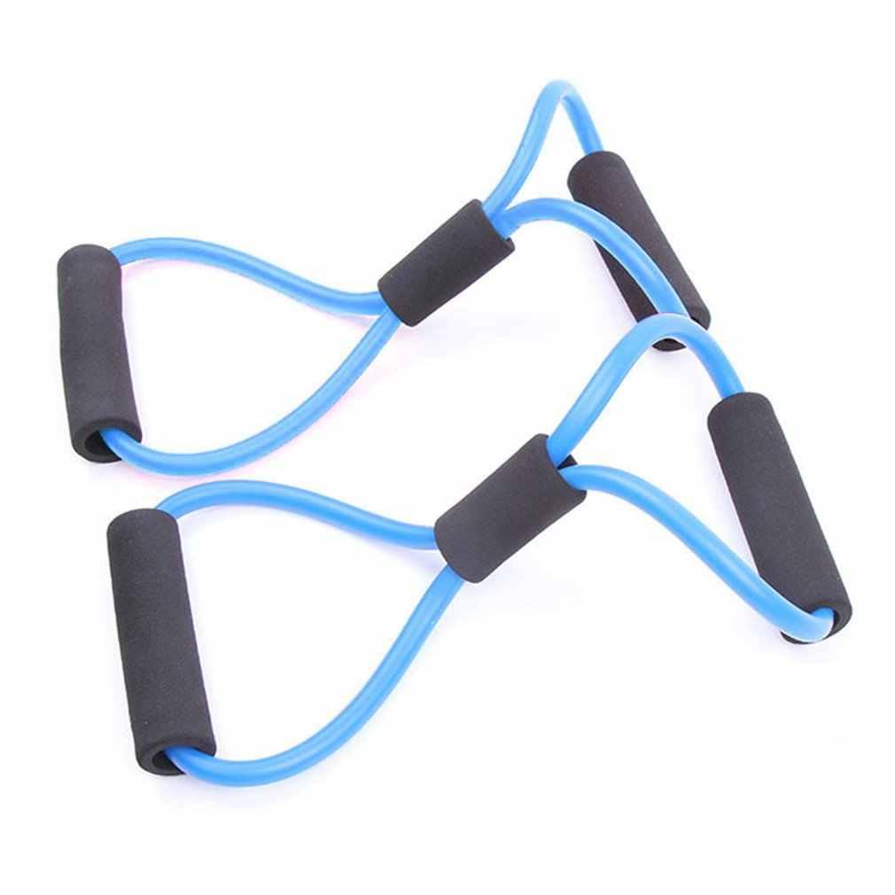140cm Yoga Pull Rope Set Workout Wort Brust Entwickler Expander Widerstand Bands Elastische Gummibänder Fitness Rohre Ausbildung