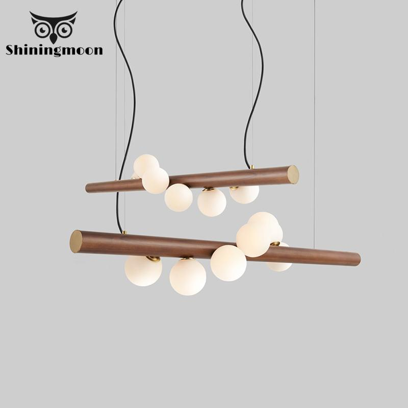 Nordic Restaurant Decor Pendant Lights Modern Minimalist Living Room Hanglamp Grain Aluminum Front Bar Pendant Lamp Luminaria