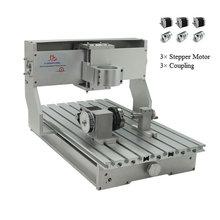 CNC 3040 랙 조각 기계 프레임 Nema23 스테퍼 모터와 4 축 키트 CNC 선반 300x400mm DIY 부품