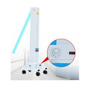 Image 5 - Luz germicida uv móvel da máquina profissional da lâmpada do esterilizador da desinfecção de 220 v 60 w uvc para a fábrica/escola/loja do animal de estimação