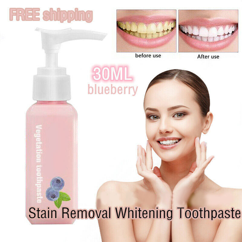 Instant Brightify Nature Toothpaste Stain Removal Whiten Brighten Teeth 30ML THIN889
