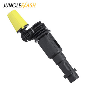 Image 4 - Rotating Dirt Shock Turbo Nozzle 360° Gimbaled Spin High Pressure Cleaner Spray Nozzle Tips Fit For Karcher Trigger Guns
