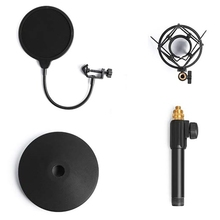 Hot USB Condenser Microphone Tabletop Stand with Shock Mount Holder Mic Stand for Microphone