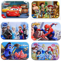Genuine Marvel Avengers Spiderman Toy Story  Puzzle Toy Children Wooden Jigsaw Puzzles Kids Educational Toys for Children Gift