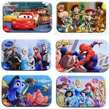 Puzle de Spiderman Story Los vengadores de Marvel juguete infantil de madera, rompecabezas, juguetes educativos para niños
