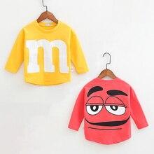 Spring Autumn Baby Boys Girls Sweatshirts Cotton Kids Print M Hoodies