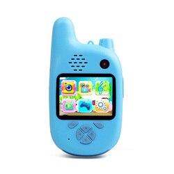 Digital Camera Childrens Camera Walkie-Talkie Dual Lens Fun Childrens Camera 720P Childrens Camera