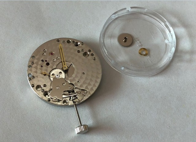 Aziatische 6498 17 juwelen mechanische hand-winding Bewegingen fit voor pilot mannen horloge jx04-j8